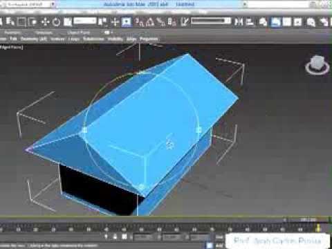 Modelar una casa b sica en 3d max editable poly youtube for Modelar habitacion 3d max