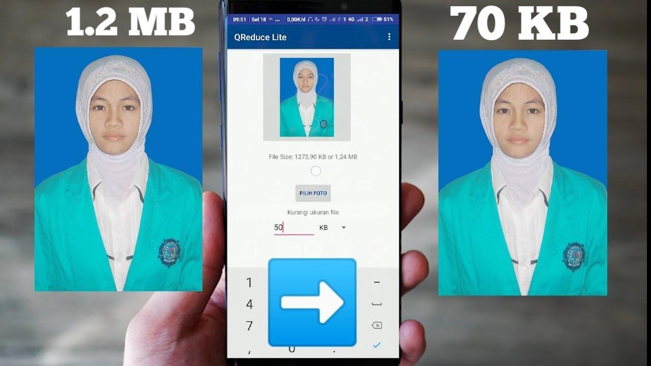 Mengecilkan Ukuran Foto Jadi 200 Kb Dengan App Android Pc Youtube