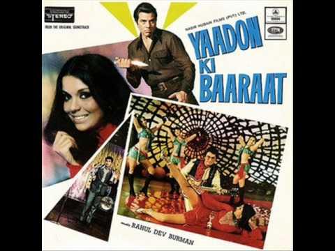 Hindi Instrumental Music,Flim:Yaadon ki barat