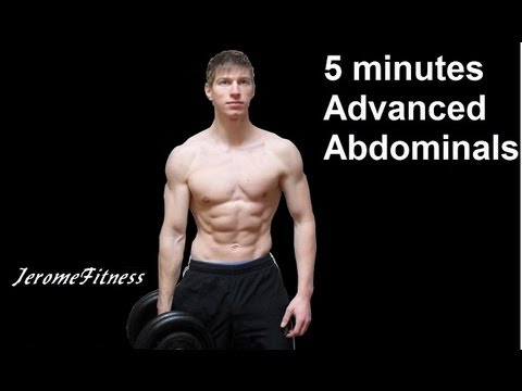5 Minute Abs: Advanced Abdominal Workout!