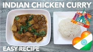 Indian Chicken Curry Recipe | Quick and Delicious | Homemade Indian Food