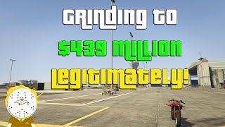GTA Online Grinding to $439 Million Legitimately And Helping Subs