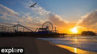 Santa Monica Beach Cam powered by EXPLORE.org