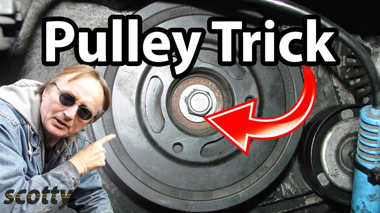 How To Remove A Crankshaft Pulley In Your Car Youtube