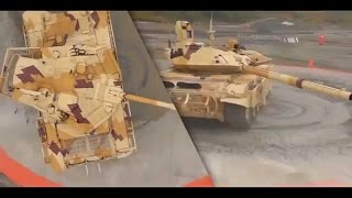 New Russian Tank T-90AM Breakthrough (T-90MS). PART-1