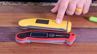 Thermapen $99 vs Thermopro $25 Meat Thermometer
