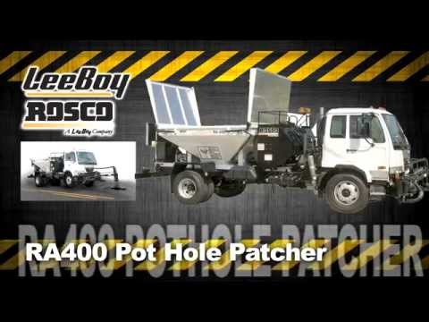 LeeBoy/Rosco RA400 Spray Patcher Available From Stephenson Equipment