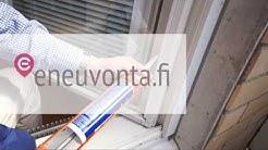 Ikkunoiden tiivistäminen lisää asumisviihtyvyyttä ja energiansäästöä