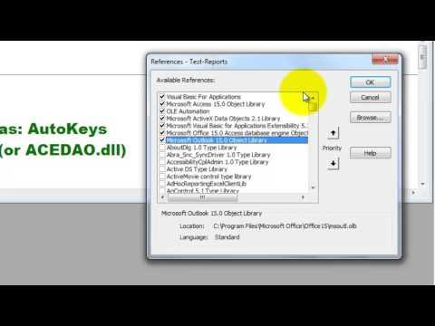 Copy Access Dates Into Outlook Calendar With VBA
