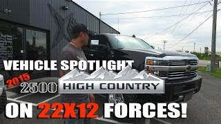 Spotlight - 2015 Chevy Silverado 2500 with 5