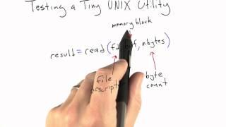 Testing a UNIX Utility - Software Testing - Random Testing - Udacity