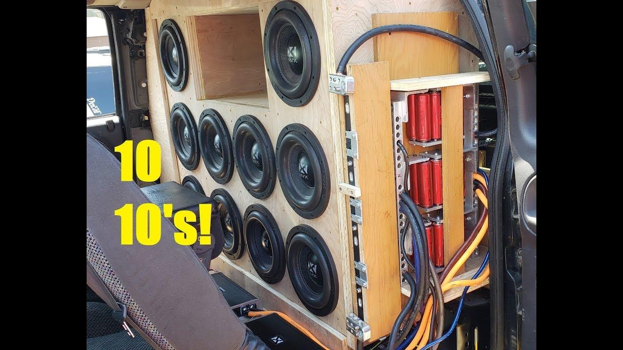 10 10'' NVX Subwoofers Demos at DBS Show !
