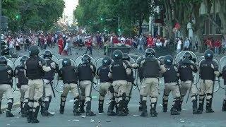 KRAWALLE: Finale der Copa Libertadores verschoben