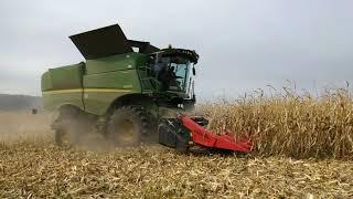 Уборка кукурузы 10.09.2018
