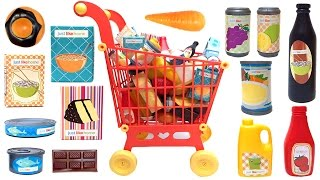 Just Like Home Mega Grocery Playset Supermarket Game Juego de Supermercado Toy Food