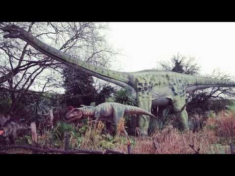 Land of the Dinosaurs at West Midlands Safari Park