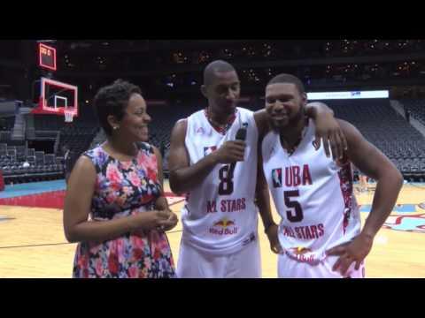 2015 UBA AllStar Game - Postgame Interview: Kasey Watkins w/ Jermaine Barnes & Freddy Williams