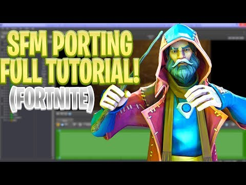 HOW TO PORT FORTNITE MODELS FROM UMODEL TO SFM!! IN DEPTH AND EASY TO FOLLOW TUTORIAL!!