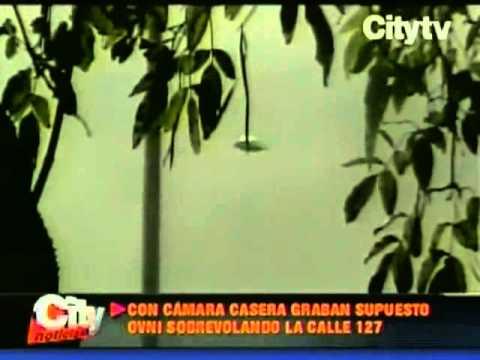Avistamiento de OVNI en Bogotá Citytv