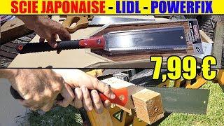 scie japonaise powerfix lidl Japanese saws Japansäge