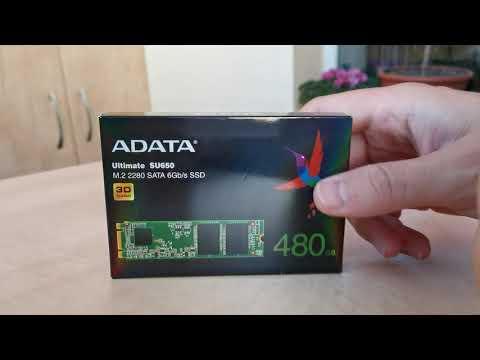 ADATA SU650 480GB M.2 SATA III 3D TLC (ASU650NS38-480GT-C)