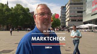 """Teure Mogelpackungen: So tricksen die Hersteller. """"Marktcheck"""" im SWR Fernsehen"""