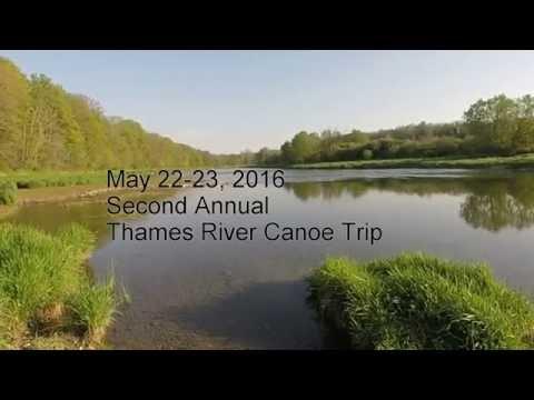 May 24 Thames River Canoe Trip