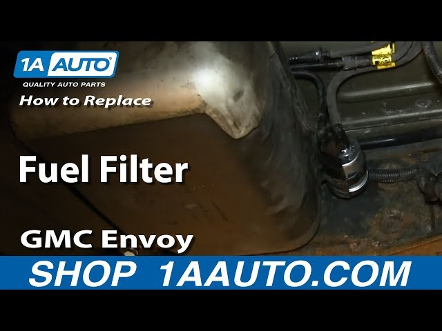 How To Replace Fuel Filter 03-08 GMC Envoy   1A Auto1A Auto