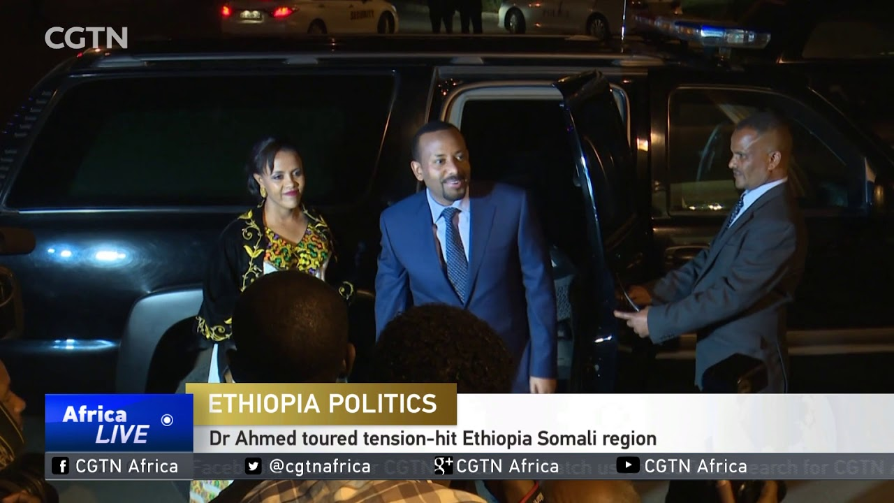 Ethiopia's new PM tours tension-hit regions in bid to unite the nation
