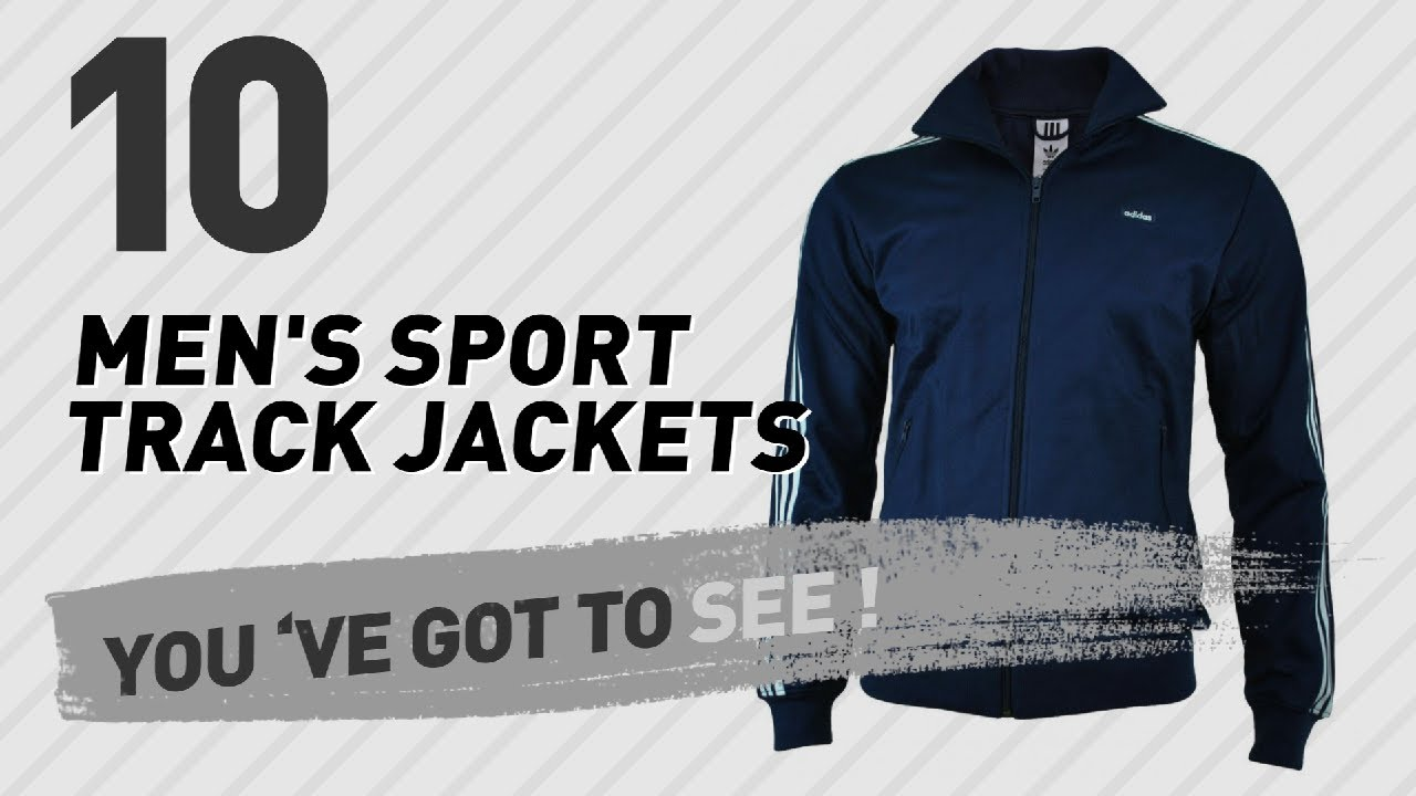 cb5b72a12ae2 Adidas Men s Sport Track Jackets    UK New   Popular 2017 - YouTube