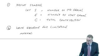 acca f5 linear programming lecture 1 example 1