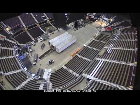 Timelapse: June 17 - 18 | Quicken Loans Arena | 2016 Republican National Convention