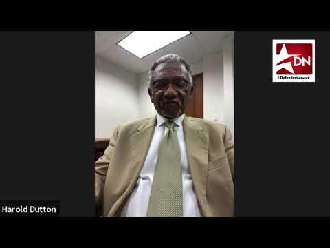 Harold Dutton talks about African American Studies in Texas schools
