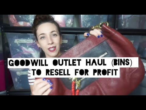 goodwill outlet thrift haul to resell on poshmark for profit youtube. Black Bedroom Furniture Sets. Home Design Ideas