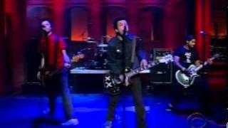 Sum live on Letterman on December 9, 2002.