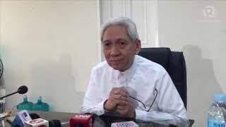 Cleared of corruption? Martires will no longer appeal to Supreme Court