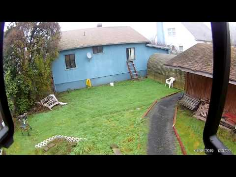 Cool weather* foggy New Year's flight of my BaYangToys X21 Brushless GPS Drone 12-07-18 (720p) (1)
