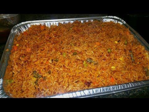 Oven Party Jollof Rice // Easy Method