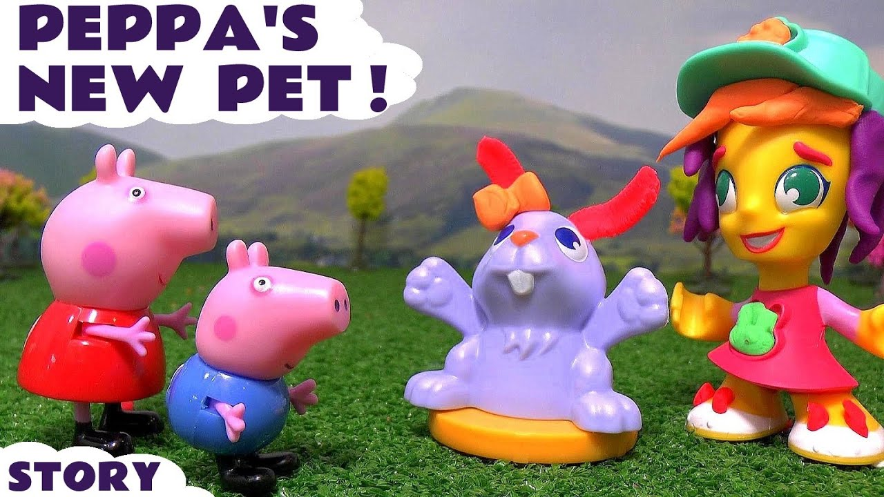 Toy Story Playground : Play doh town pet store with peppa pig toys toy story at