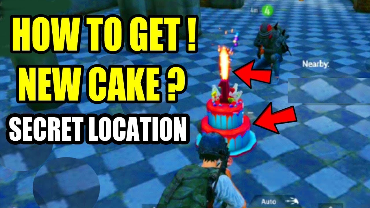 Where To Find Birthday Cake Pubg Mobile Birthday Cake Pubg