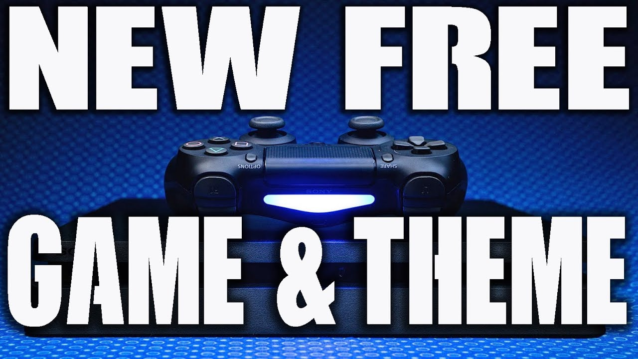 PS4 FREE GAME & FREE THEME!! DEALS OF THE WEEK