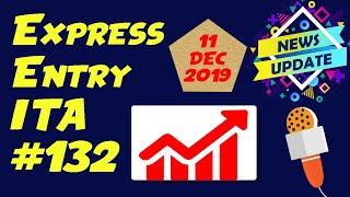 Canada Express Entry Draw #132. December 11, 2019