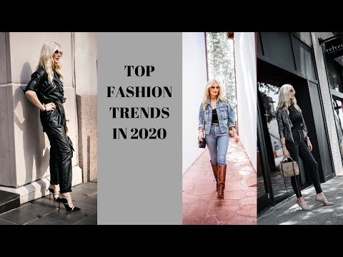 Top Fashion Trends in 2020 | Fashion Over 40. http://bit.ly/2GPkyb3