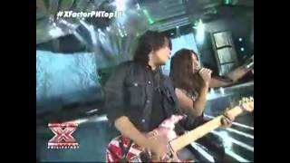 Allen Jane Sta. Maria - The X Factor Philippines  2nd Live  Performance Night (August 11, 2012)