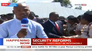 Security Reforms: CS Matiang'i to address issues of coffee theft