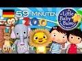 Zoo Lied | Und noch viele weitere Kinderlieder | von LittleBabyBum