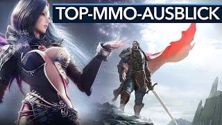MMO Ausblick 2018 - 8 MMOs, auf die wir uns 2018 freuen (Gameplay)