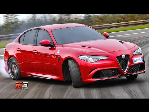 new alfa romeo giulia quadrifoglio verde 2016 ecco come si guida first test onboard youtube. Black Bedroom Furniture Sets. Home Design Ideas