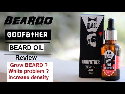 Beardo godfather oil review, grow hair ? White problem ?
