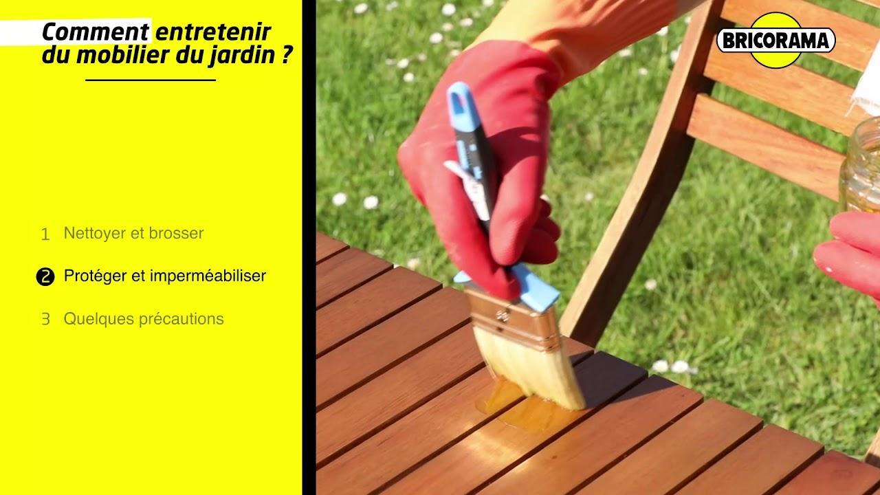 TUTO Entretenir du mobilier de jardin BRICORAMA
